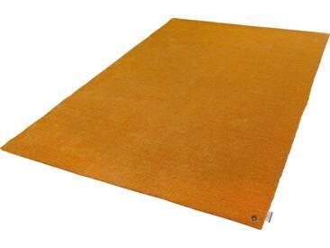 Tom Tailor Teppich »Powder uni«, 65x135 cm, 12 mm Gesamthöhe, gold
