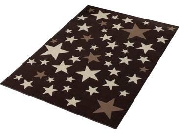 Hanse Home Teppich »Sterne«, 140x200 cm, 9 mm Gesamthöhe, braun