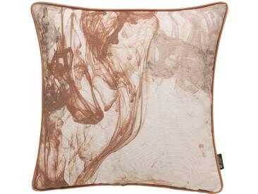 Emotion Textiles Kissenbezug »Storm of Colours«, braun