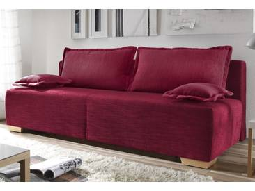 Reposa Schlaf-Sofa »Basic 8«, 5 Jahre Hersteller-Garantie, rot