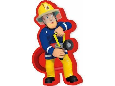 Feuerwehrmann Sam Dekokissen »Feuerwehrmann Sam«, 1x 40x22 cm, waschbar, rot