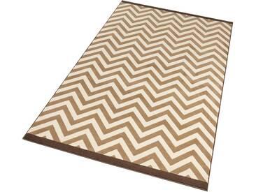 Hanse Home Teppich »Meridian«, 160x230 cm, 9 mm Gesamthöhe, braun