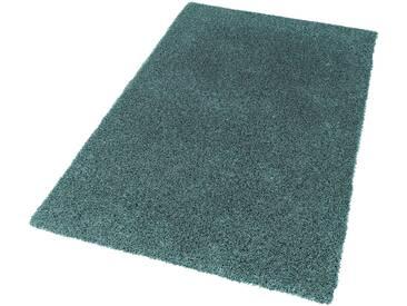 Schöner Wohnen-kollektion Hochflor-Teppich »New Feeling«, 70x140 cm, 40 mm Gesamthöhe, grün