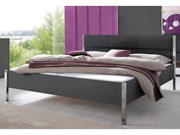 Rauch Bett »Moita«, Fußteilhöhe: 44 cm, grau