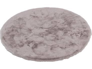Schöner Wohnen-kollektion Teppich »Tender«, Ø 120 cm, 26 mm Gesamthöhe, braun