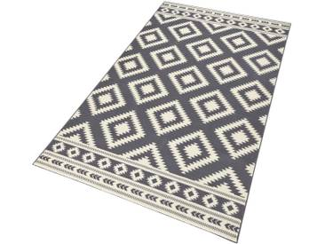 Hanse Home Teppich »Ethno«, 80x150 cm, 9 mm Gesamthöhe, grau