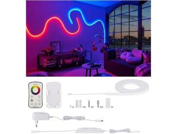 Paulmann LED-Streifen »MaxLED Flow Basisset 1,5m RGB 13,5W«, weiß