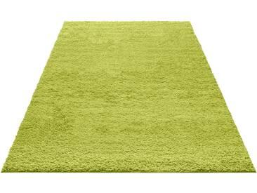 My Home Hochflor-Teppich »Bodrum«, 200x200 cm, 30 mm Gesamthöhe, grün