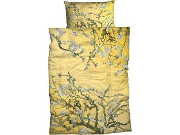 Goebel Bettwäsche »Mandelbaum«, 135x200 cm, aus reiner Baumwolle, gold
