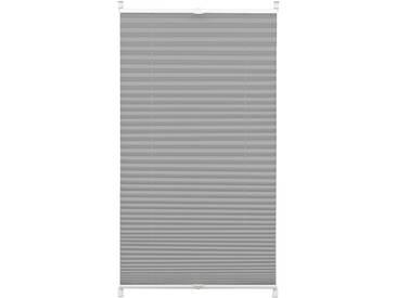 Gardinia Plissee »Easyfix Plissee«, H/B 130/80 cm, pflegeleicht, grau