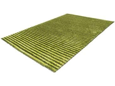 Arte Espina Hochflorteppich »Felicia 200«, 140x200 cm, 30 mm Gesamthöhe, grün