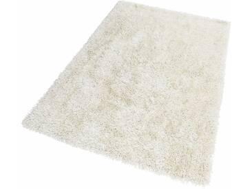 Theko® Hochflorteppich »Girly«, 50x80 cm, weiß
