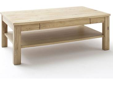 MCA Furniture Couchtisch Santori Asteiche Biancot teilmassiv geölt rechteckig ca. 117 x 65 cm für Ihr Wohnzimmer