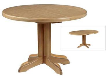Dkk Klose Kollektion Säulentisch rund Durchmesser ca. 95 cm Tisch 3406 und 3436 oder 3446Esstisch mit Funktion für Wohnzimmer und Esszimmer Farbton wählbar