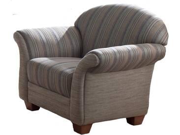ponsel WALLIS Sessel 10 mit Federkern, Bezug Füße und Armteilverstellung wählbar