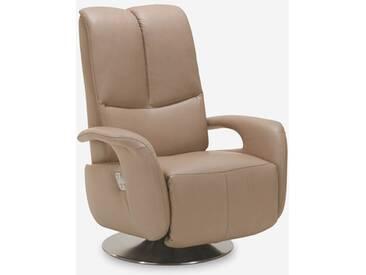 Polinova TV-Sessel My Style inklusive Kopfteilverstellung in Echtleder Ausführung wählbar Rücken echt
