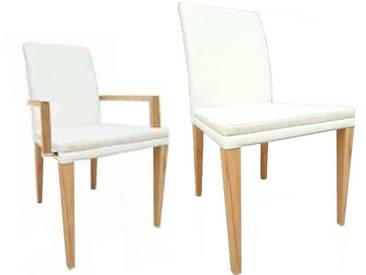 Dkk Klose Kollektion Stuhl S17 Sessel oder Stuhl in Bezug Polsterung und Rückenausführung wählbar