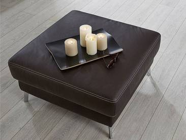 Candy Hocker Hockerbank Colano für Wohnzimmer in Stoff oder Leder Größe Ausführung wählbar