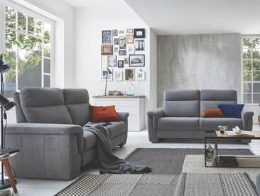 Carina 3605 Garnitur aus 3-Sitzer und 2-Sitzer in vielen farbenfrohen Stoff- und Echtlederbezügen erhältlich