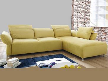 Candy Ecksofa Sofa Memphis für Wohnzimmer Bezug Stoff oder Leder wählbar