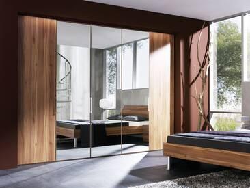 Nolte Horizont 8000 Drehtürenschrank Schrank Kombination Spiegel- und Holzfront Schlafzimmer Farbe wählbar