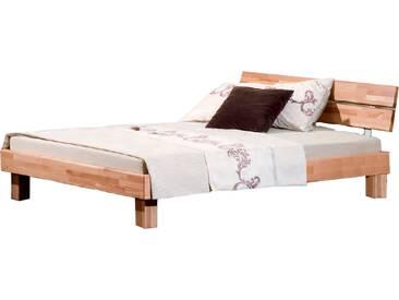 Neue Modular Primolar Varese Bett Liegefläche von ca. 180 x 200 cm aus Kernbuche Massivholz natur geölt