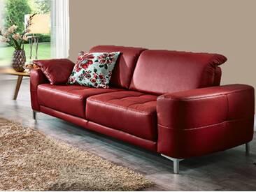 Dietsch Corazon Einzelsofa Sofa  mit Sitztiefenverstellung Stoff oder Leder wählbar
