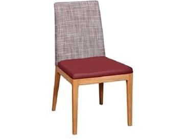 Dkk Klose Kollektion Stuhl S39 Polsterstuhl für Speisezimmer oder Wohnzimmer in zwei Polstervarianten Gestell aus Massivholz in verschiedenen Holzausführungen Bezug Leder oder Textil in großer Auswahl erhältlich