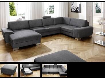 Candy Venedig Wohnlandschaft Sofa Longchair 2-Sitzer Ecke und 1,5-Sitzer Couch auch spiegelverkehrt lieferbar Ausführung wählbar