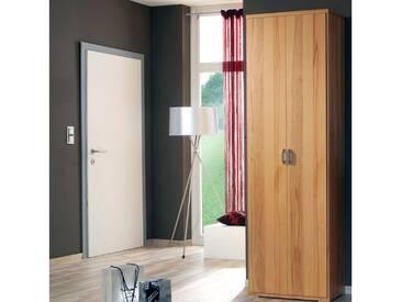 Wittenbreder Woody plus Kleiderschrank 500 oder 501 für Flur, Schrank Furnier Lack matt mit oder ohne Spiegel Ausführung wählbar