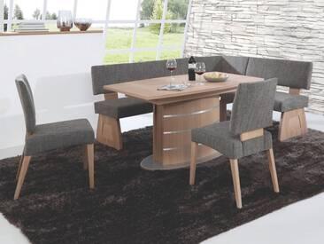 Dkk Klose Kollektion Eckbank Eins2Drei 123 Größe Sitzkomfort Holzausführung und Bezug wählbar