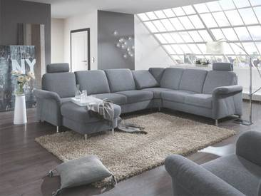 Zehdenick Wohnlandschaft Jackson mit Sessel in vielfältigen Stoffbezügen auch spiegelverkehrt erhältlich