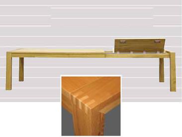 Dkk Klose Kollektion Große Klappe T8 Vierfußtisch massiv ausziehbar mit Frontslide für Speisezimmer Ausführung wählbar