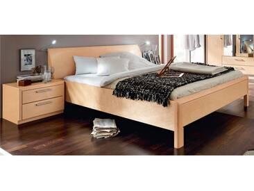 Disselkamp Coretta Doppelbett Leger Bett für Schlafzimmer Größe, Front / Korpus, Konsolen und Leselicht wählbar