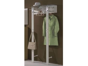 Wittenbreder Woody plus Garderobe breit 740 für Flur, Furnier Lack matt oder Hochglanz