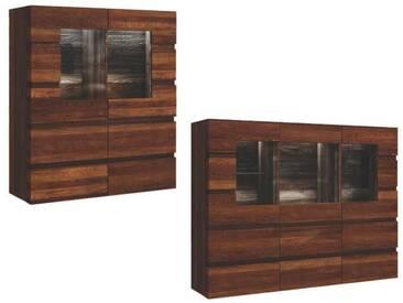 Dkk Klose Kollektion K29 Kastenmöbel Highboard mit Holz-/ Glastüren Kommode massiv Beimöbel für Esszimmer Größe und  Ausführung wählbar