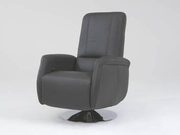 Polinova TV-Sessel Waveline inklusive Kopfteilverstellung in Echtleder Ausführung wählbar Rücken echt