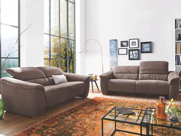 Carina 1200 Garnitur aus 3-Sitzer und 2-Sitzer in vielen Stoff- und Lederbezügen wählbar