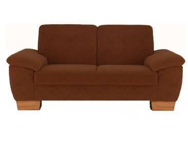 ponsel DURBAN 838 3-sitzer Sofa Nr. 33 Kontrastnaht, Stoff oder Lederfarbe wählbar