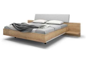 Nolte Möbel concept me 500 Bett Ausführung 2 Bettrahmen gerundet mit Dekoreinlage rechts und links am Bettrahmen Kopfteile und Füße wählbar Einzel oder Doppelbett