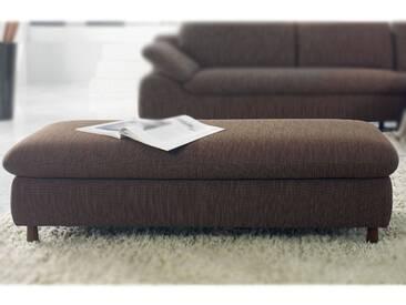 Schillig Willi Amore 10574 Hocker ca 84 x 54 x 45 cm Leder graphite mit Füßen für Sitzhöhe 45 cm ***AM LAGER***