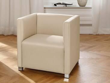 Candy Bronx Einzelsessel für Wohnzimmer Sessel Bezug Stoff oder Leder wählbar