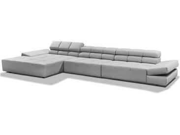 Candy Ecksofa Oregon 2.0 Ecksofa Couchgarnitur inklusive 3 Spitzkissen in Stoff oder Leder Ausführung wählbar Couch spiegelverkehrt lieferbar