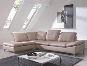Schillig Willi Enjoy 15270 Ecksofa bestehend aus Ecksofa und Sofa groß inklusive Sitztiefen-, Seitenteil- & Kopfteilverstellungen und glänzenden Metallfüßen Bezug wählbar