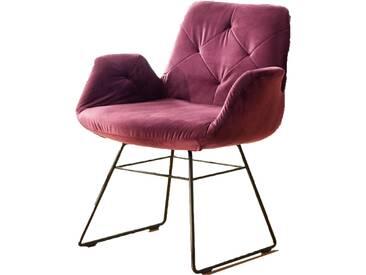 Candy Sixty Chair Stuhl oder Armlehnstuhl mit umfangreicher Bezugsauswahl und diversen Fußausführungen