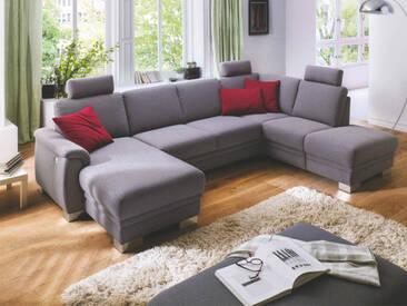Carina 1040 Wohnlandschaft für Wohnzimmer Bezug in Leder und Stoff wählbar