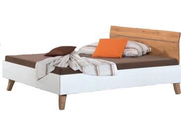 Neue Modular Primolar Lizzano Bett bestehend aus Bettrahmen mit Kopfteil Paliano und Busseto Füße Liegefläche ca. 180x200 cm