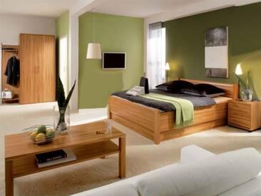 Priess Objekträume Schlafzimmer Bett 2-türiger Kleiderschrank Nachtschrank