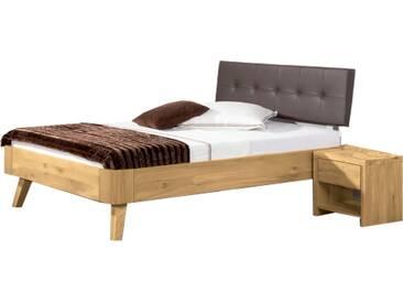 Neue Modular Primolar Asti Plus Bett mit Kopfteil Bergamo Eckeinsätzen und Füße Busseto Liegefläche ca. 180x200 cm optional mit Nachttisch