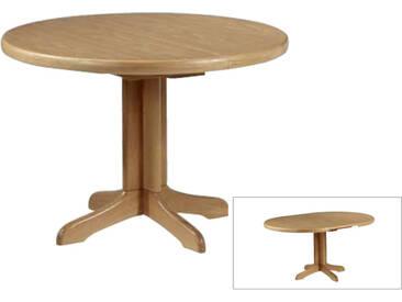 Dkk Klose Kollektion Säulentisch rund Durchmesser ca. 85 cm Tisch 3406 und 3446 Esstisch mit Funktion für Wohnzimmer und Esszimmer Farbton wählbar